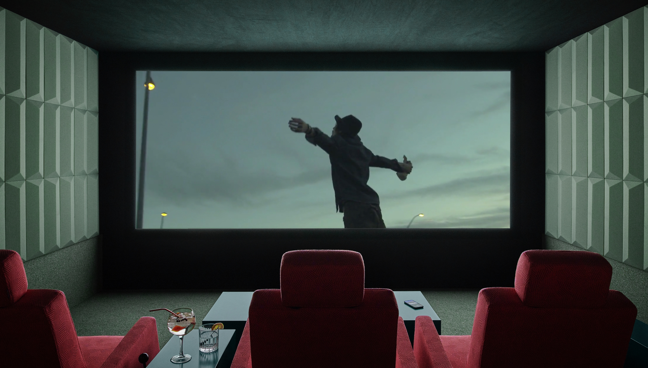 First-Ever On-Demand Personal Cinema